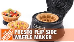 Presto Waffle Maker - 3 best Presto Waffle Bowl Maker - 2020 buyer's Guide