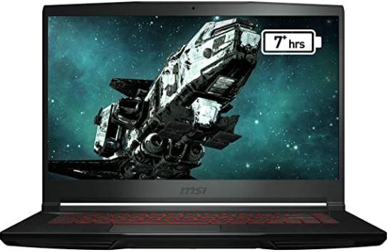 MSI GF63 THIN gaming laptop